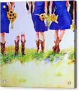 Country Bride Acrylic Print