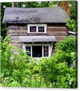 Country Cabin Acrylic Print