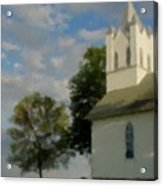 Country Chuch Acrylic Print