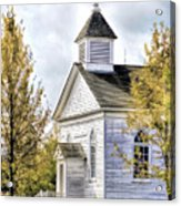 Country Church At Old World Wisconsin Acrylic Print