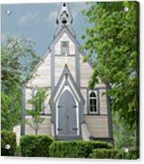 Country Church Acrylic Print