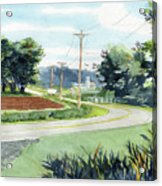 Country Corner Acrylic Print