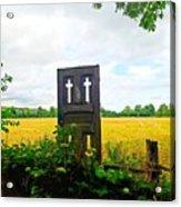 Country Crosses Acrylic Print