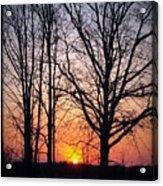 Country Glow Acrylic Print