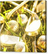Country Golf Acrylic Print