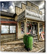 Country Grocer Acrylic Print