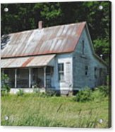 Country Home Acrylic Print