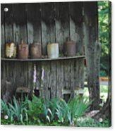 Country Jugs Acrylic Print