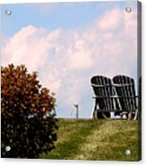 Country Life - Evening Relaxation Acrylic Print