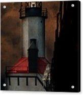 Country Lighthouse Acrylic Print