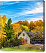 Country Living 2 - Paint Acrylic Print