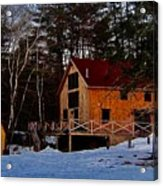 Country Living, Two Acrylic Print
