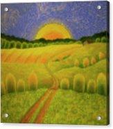 Country Morning Acrylic Print