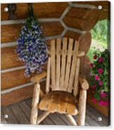 Country Porch Acrylic Print
