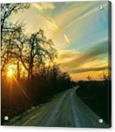Country Road Please Take Me Home Acrylic Print