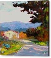 Country Road - Tuscany Acrylic Print