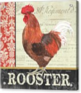 Country Rooster 2 Acrylic Print