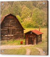 Country Shack Acrylic Print