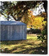 Country Shed Acrylic Print