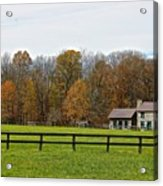 Country Side Home Acrylic Print