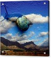 Country Snail Acrylic Print
