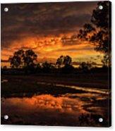 Country Sunset Acrylic Print