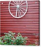 Country Wheel Acrylic Print