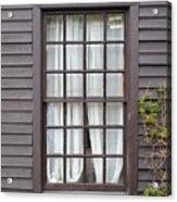 Country Window Acrylic Print