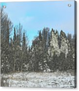 Country Winter 15 Acrylic Print