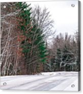 Country Winter 9 Acrylic Print