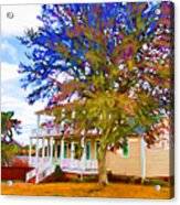 Countryside House 1 Acrylic Print