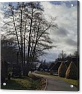 Countryside In Hermannstadt Acrylic Print