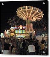 County Fair At Night Acrylic Print