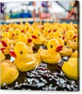 County Fair Rubber Duckies Acrylic Print