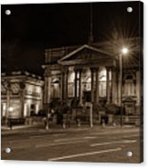 County Sessions House By Night Liverpool Acrylic Print