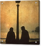 Couple Acrylic Print by Bernard Jaubert