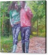 Couple In Love Acrylic Print