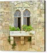 Coupled Windows Acrylic Print