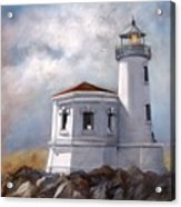 Couquille River Lighthouse  Bandon Ore. Acrylic Print