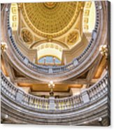 Courthouse Dome Acrylic Print