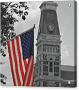 Courthouse In America Acrylic Print