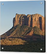 Courthouse Rock Acrylic Print