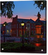 Courthouse Square Acrylic Print