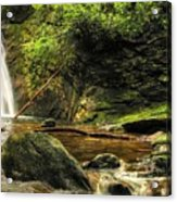 Courthouse Waterfall Acrylic Print