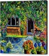 Courtyard 79 Acrylic Print