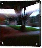Courtyard At Night Acrylic Print
