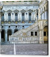 Courtyard At The Doge Palace Acrylic Print