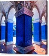 Courtyard In Santa Catalina Convent Acrylic Print