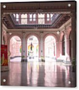 Courtyard Of The Central Post Office, Lima Peru Acrylic Print
