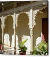 Courtyard, Rajasthan, India Acrylic Print